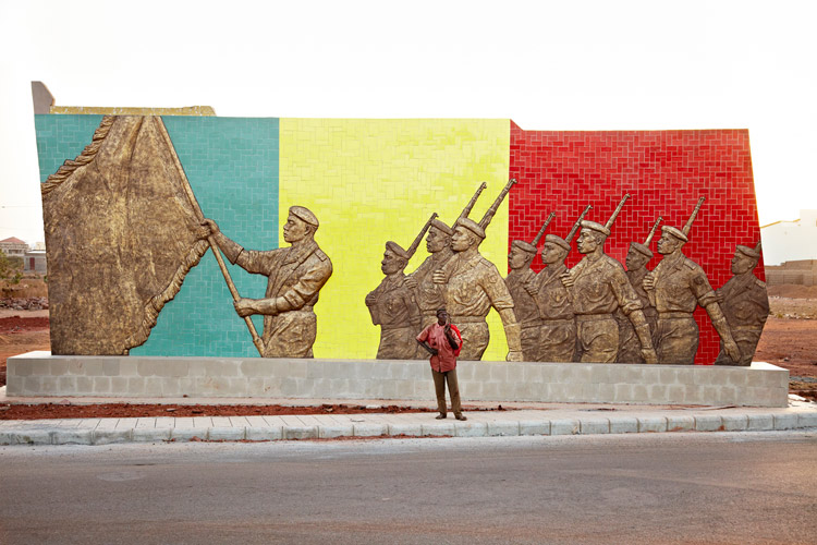 République du Mali / Republic of Mali, Avenue des Armées, Sotuba, Bamako, 2012