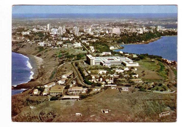 Palais de Justice, Cap Manuel, Dakar, carte postale, archive